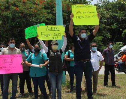 Personal de Caravanas de Salud, exigen el pago de sus viáticos a la SESA Q. Roo
