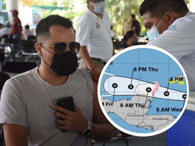 Ayuntamiento de Tulum anuncia suspensión de jornada de vacunación contra la COVID-19