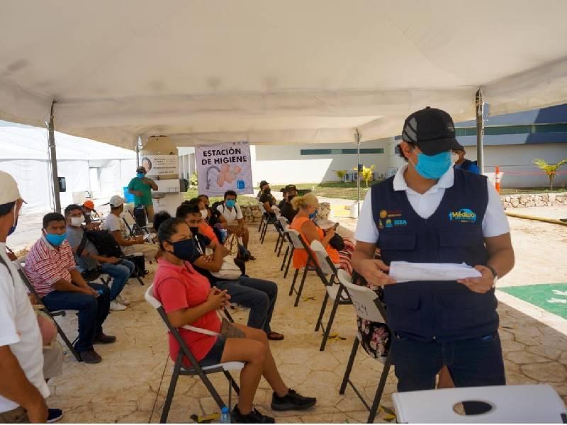 Quintana Roo inicia semana con 75 nuevos casos positivos al Covid-19