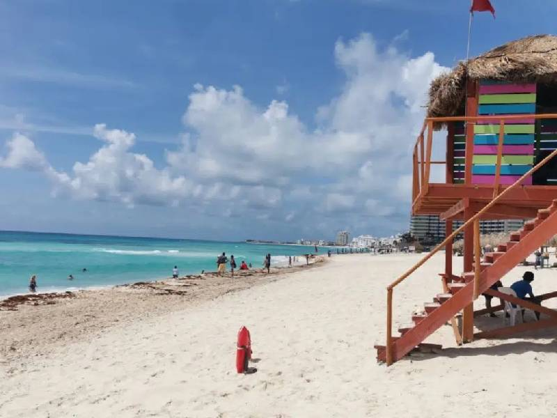 Video. Sin sargazo, celebra Quintana Roo el Día Mundial de la Playa