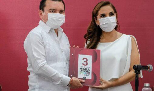 Juntos, construiremos la historia de los próximos 50 años de Cancún: Mara