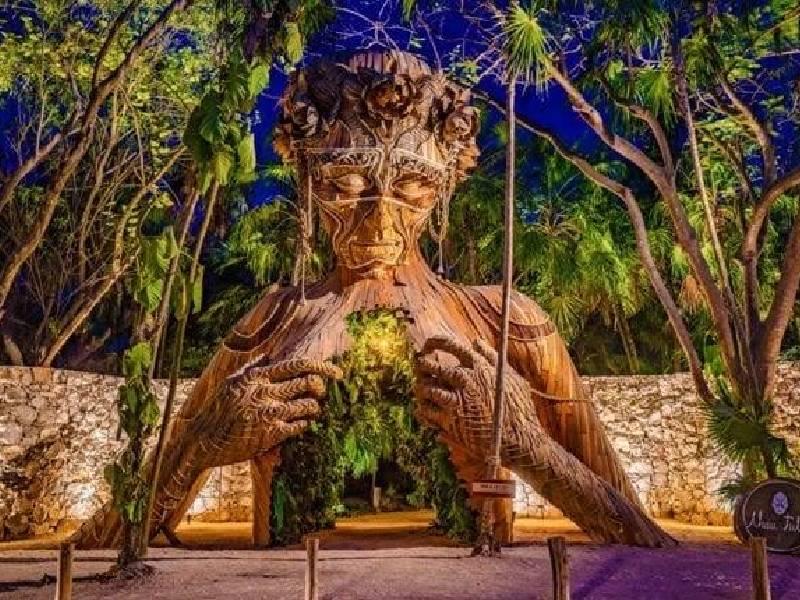 """La escultura """"Ven a la luz"""" será reubicada en Tulum"""