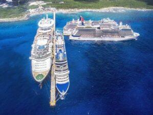 Prestadores de servicios turísticos de Mahahual buscan beneficios con la llegada de cruceros