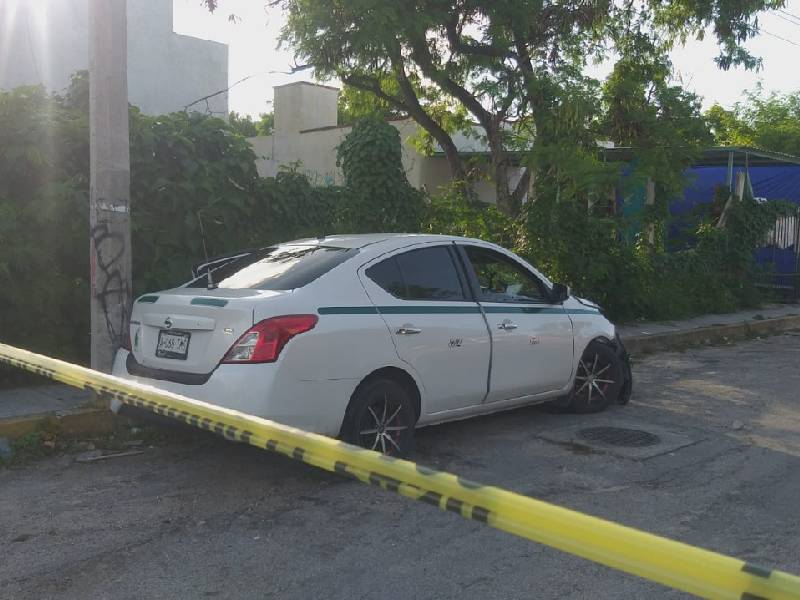 """Balean a taxista, después de ataque a otro integrante del Sindicato """"Andrés Quintana Roo"""""""