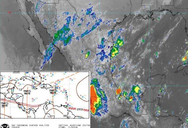 El clima de hoy para Quintana Roo