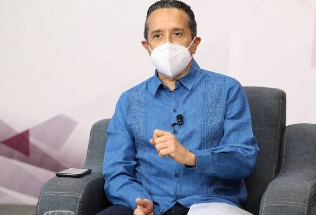 Registramos de 50 a 70 contagios a diario: Carlos Joaquín