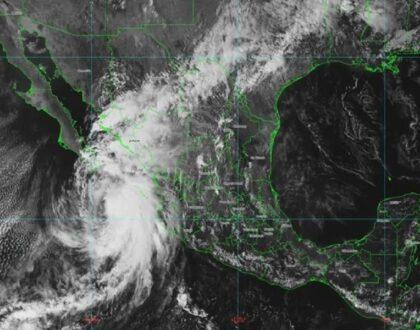 «Pamela» disminuye su intensidad a tormenta tropical